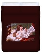 Mrs Winslow's Soothing Syrup Duvet Cover