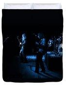 Mrush #9 In Blue Duvet Cover