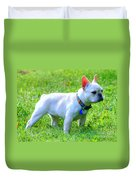 Ms. Quiggly - French Bulldog Duvet Cover