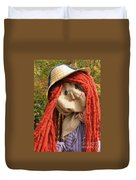 Ms Scarecrow Duvet Cover