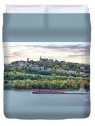 Mt Adams Cincinnati 9919 Duvet Cover