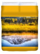 Mt Adams Reflection Duvet Cover