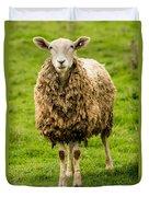 Mt Angel Abbey Sheep - Oregon Duvet Cover
