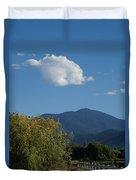 Mt Ashland In Late Summer Duvet Cover