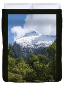 Mt. Aspiring National Park Peaks Duvet Cover
