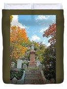 Mt Auburn Cemetery 1 Duvet Cover