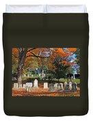 Mt Auburn Cemetery 12 Duvet Cover