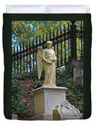 Mt Auburn Cemetery 3 Duvet Cover