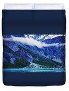 Mt. Barnard Shoreline 4 Duvet Cover