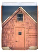 Mt. Cube Sugar Shack Orford New Hampshire Duvet Cover