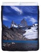 Mt Fitzroy And Laguna De Los Tres Duvet Cover