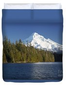 Mt Hood And Lost Lake Duvet Cover