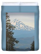 Mt Hood Duvet Cover