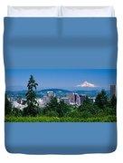 Mt Hood Portland Oregon Usa Duvet Cover