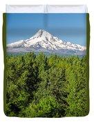 Mt. Hood Vertical Duvet Cover