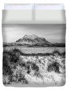 Mt Illimani In Monochrome Duvet Cover