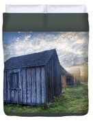 Mt Leconte Cabins Duvet Cover