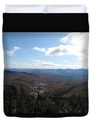 Mt Mansfield Looking East Duvet Cover