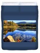 Mt. Monadnock Reflection Duvet Cover