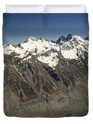 Mt Sefton Hooker Glacier And Mt Cook Duvet Cover