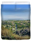 Mt. Soledad - View To The South Duvet Cover
