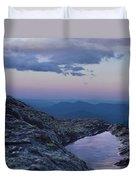 Mt. Washington  Blue Hour Duvet Cover