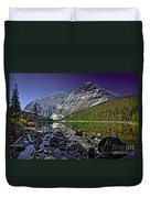 Mt.edith Cavell Duvet Cover