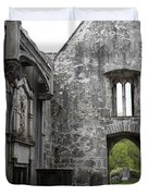 Muckrooss Abbey Ruin Duvet Cover