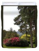 Muckross Garden In Spring Duvet Cover