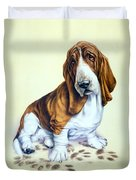 Mucky Pup Duvet Cover by Andrew Farley