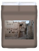 Mud Brick Village Duvet Cover