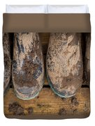 Muddy Boots On Deck Duvet Cover