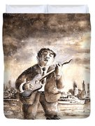 Muddy Waters In Chicago Duvet Cover