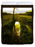 Mudhole Mirror Duvet Cover