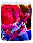 Muffler Guitar Duvet Cover