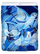 Muge's Pigeons Duvet Cover