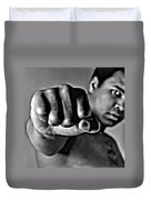 Muhammad Ali Fist Duvet Cover