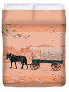 Mule Days - Westmoreland Tn  9-28-13  2 Duvet Cover