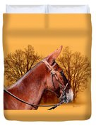 Mule Days - Westmoreland Tn  9-28-13 Duvet Cover