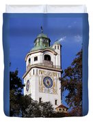 Mullersches Volksbad Munich Germany - A 19th Century Spa Duvet Cover