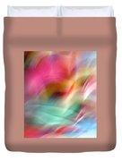 Multi-color Floral Duvet Cover