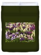 Multi-colored Blooms Duvet Cover