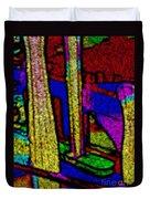 Multi Sensation Colors Duvet Cover