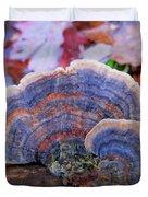 Multicolor Mushroom Duvet Cover