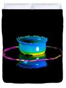 Multicoloured Bowl Duvet Cover