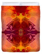 Multilayered Realities Abstract Pattern Artwork By Omaste Witkow Duvet Cover