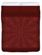 Multiplicity Mandala 16x9 Duvet Cover