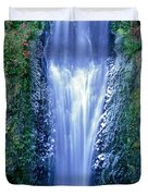 Multnomah Falls Columbia River Gorge Oregon Duvet Cover