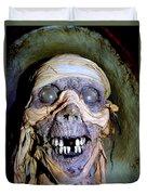 Mummified Mike Duvet Cover