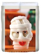 Mummy Sweet On Halloween Cup Cake Duvet Cover
